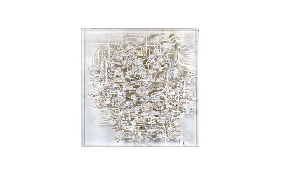 Paper sculpture 14